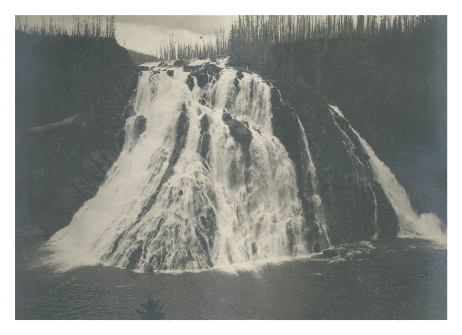 Famous Photo of Kinuseo Falls - Fay Expedition
